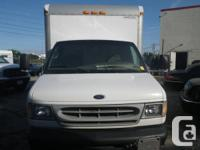 2002 Diesel Ford E450 Cube van up for sale. Consists of