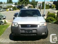 Make Ford Model Escape Year 2002 Colour silver kms