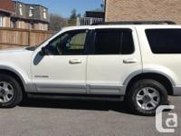 2002 FORD EXPLORER. V8, AUTOMATIC, 4x4, LIMITED