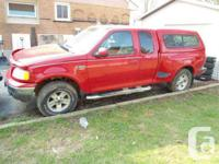 Hanover, ON 2002 Ford F-150 FX4 This reliable pickup