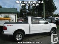 2002 Ford F-150 King Ranch SuperCrew Short Bed 4WD -