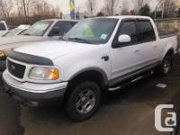 Make Ford Model F-150 Year 2002 Colour White kms