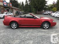 Make Ford Model Mustang Year 2002 Colour Red kms