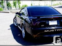 Make Ford Model Mustang Colour Black Trans Manual kms