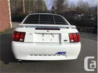 Make Ford Model Mustang Year 2002 Colour White kms