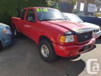 Make Ford Year 2002 Colour Red Trans Manual kms 123000