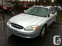 2002 Ford Taurus, 27 Months Powertrain Warranty,
