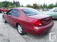Make Ford Model Taurus Year 2002 Colour Red kms 145604