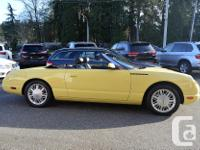 Make Ford Model Thunderbird Year 2002 Colour Yellow