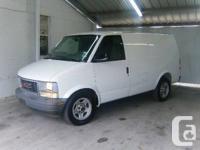 2002 GMC Safari Cargo Van (White)  260.000km   Original