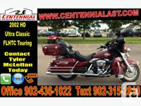 2002 Harley-Davidson Ultra Classic Electra Glide Very