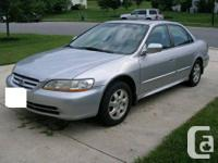 2002 Honda Accord Ex sedan, 4 door, automatic, 145000
