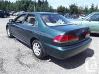 Make Honda Model Accord Year 2002 Colour Green kms
