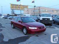 Khyber Motors ltd  2002 Honda Accord SE TO SEE MORE