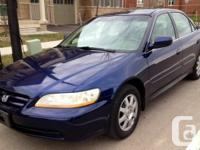 2002 Honda Accord SE, 4dr Automatic, Fully Equipped