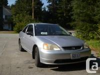 Selling my Honda civic lx coupe for quick sale leaving