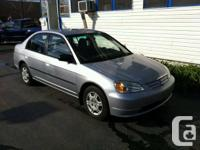2002 Honda Civic DX, 27 Months Powertrain Warranty,  4