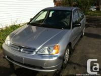 2002 Honda Civic DX, 27 Months Powertrain Warranty,  4