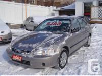 2002 HONDA CIVIC DX odometer: 152000 automatic