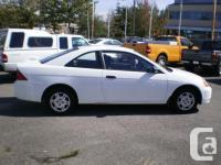 Make Honda Model Civic Coupe Year 2002 Colour White