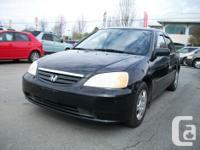 Make Honda Model Civic Sedan Year 2002 Colour Black