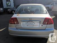Make Honda Model Civic Sedan Year 2002 Colour Silver