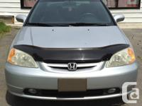 Make Honda Model Civic Si Year 2002 Colour Silver kms