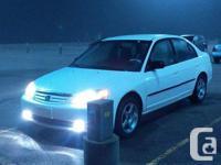 Make Honda Model Civic Year 2002 Colour White Trans