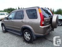 Make Honda Model CR-V Year 2002 Colour Brown kms