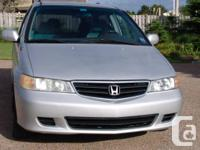 Honda Odyssey 2002 EX Guest Van, World power and