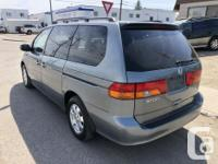 Make Honda Model Odyssey Year 2002 Colour GREY kms