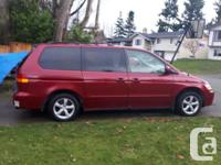 Make Honda Model Odyssey Year 2002 Colour Red kms