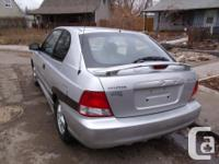 Make Hyundai Model Accent Year 2002 Colour silver kms
