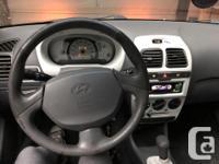 Make Hyundai Model Accent Colour Black Trans Manual
