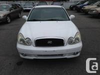 2002 Hyundai Sonata.Automatique.Com pletement Equipe.
