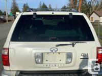 Trans Automatic 2002 Infiniti QX4 Platinum Edition
