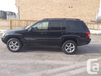2002 JEEP GRAND CHEROKEE LIMITED. Automatic, 4 Door.