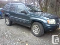 4.7L-V8 (235hp) Loaded leather seats sunroof, tow pckg,