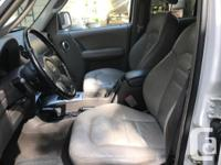 Make Jeep Model Liberty Colour White Trans Automatic