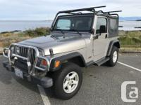 Make Jeep Model TJ Year 2002 Colour Silver/Grey kms