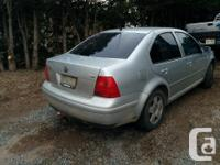 I am selling a certified 2002 jetta TDI for $4500 OBO.