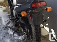 2002 KAWASAKI EX500 Clean title. Canadian bike. With