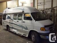 2002 leisure travel camper van. Aircared.   Only 100129