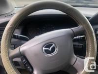 Make Mazda Model MPV Year 2002 Colour Blue kms 221719