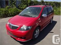 Make Mazda Model MPV Year 2002 Colour Red kms 63383