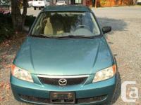 Make Mazda Model Protege5 Year 2002 Colour green kms