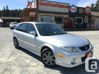 Make Mazda Model Protege5 Year 2002 Colour Silver kms
