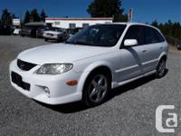 Make Mazda Model Protege Year 2002 Colour white kms