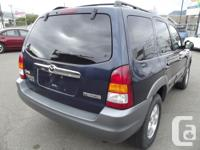 Make Mazda Model Tribute Year 2002 Colour Dark Blue