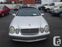 2002 Mercedes Benz CLK 430.Automatique.Completement